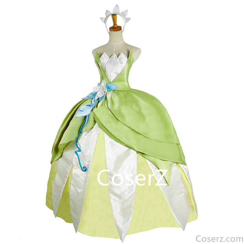 Tiana Dress Tiana Cosplay Costume