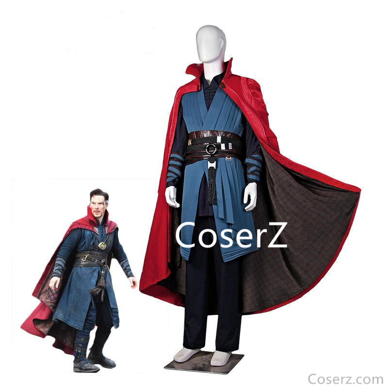 Dr. Strange Movie Doctor Strange Stephen Cosplay Costume Cloak Uniform