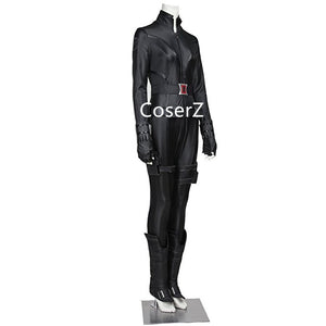 Custom The Avengers II Black Widow Cosplay Costume