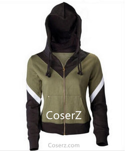 Custom The Legend of Zelda Link Hoodie Men Women Coat Jacket Sweatshirt Cosplay