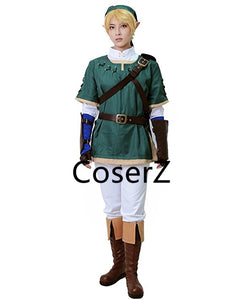 The Legend of Zelda Link Cosplay Costume, Green Link Costume Only