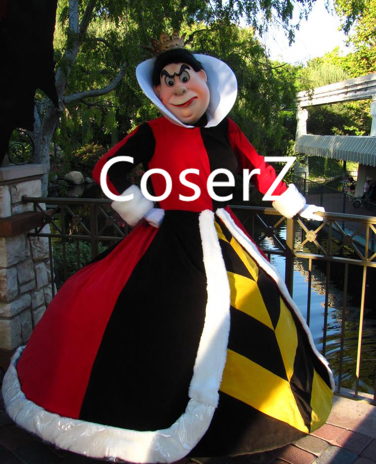 Custom The Queen of Hearts Costume Plus Size Cosplay Costume