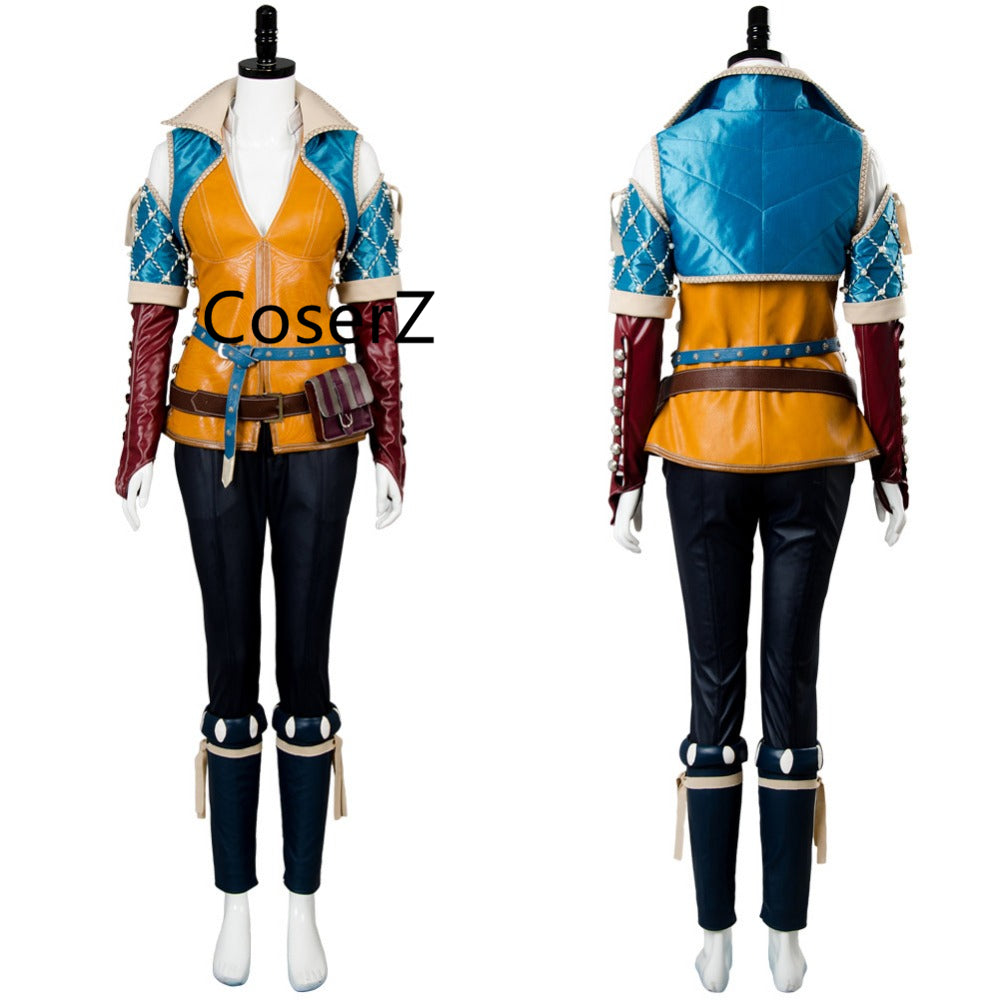 The Witcher 3:Wild Hunt Triss Merigold Cosplay Costume