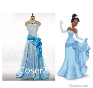 Princess Tiana Dress Tiana Costume