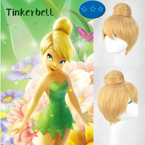 The Pirate Fairy Tinkerbell Wig, Tinker Bell Cosplay Wig