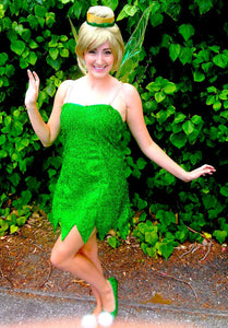 Tinkerbell Costume, Tinker Bell Cosplay Costume, Tinkerbell Cosplay Costume for Adults