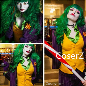 Women's Joker Costume Women Joker Jack Cosplay Costume Full Outfits