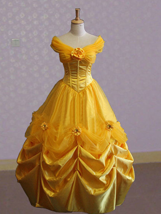 Custom Beauty And The Beast Belle Dress Belle Cosplay Costume