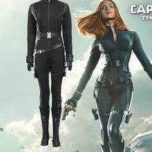 Captain America 2 Natasha Romanoff Black Widow Cosplay Costume
