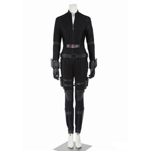 Captain America 3 Civil War Black Widow Costume Natasha Romanoff Cosplay Costume