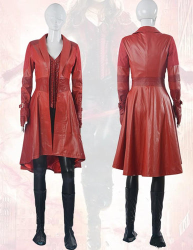 Captain America Civil War Wanda Maximoff Scarlet Witch Cosplay Costume