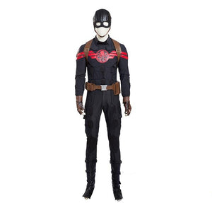 Captain America Hydra Agent Cosplay Costume Full Set