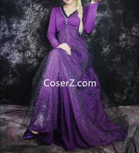 Frozen 2 Elsa Red Dress, Frozen 2 Elsa Purple Dress for Adult