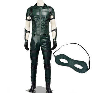 Green Arrow Season 4 Oliver Queen Arrow Cosplay Costume