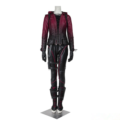 Green Arrow Season 4 Speedy Thea Queen Cosplay Costume