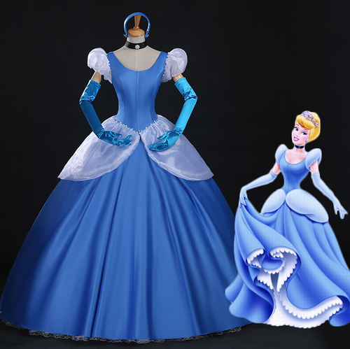 Cinderella Dress, Cinderella Blue Dress, Cinderella Cosplay Costume
