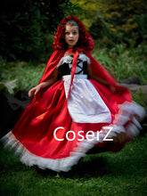 Custom Little Red Riding Hood Costume Halloween Cosplay Costume