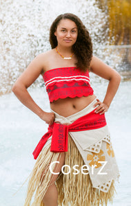 Moana cosplay Costume, Moana Dress