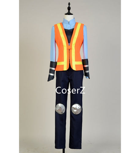 Zootopia Traffic Police Officer Judy Hopps Costume