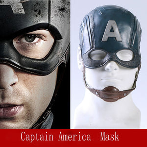 The Avengers Captain America Steven Cosplay Helmet Mask Captain America Mask