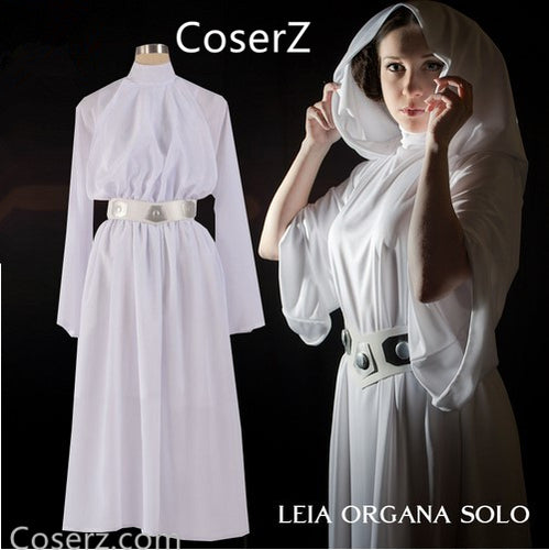 Custom-made Star Wars Princess Leia Costume Organa Solo Dress Cosplay Costume