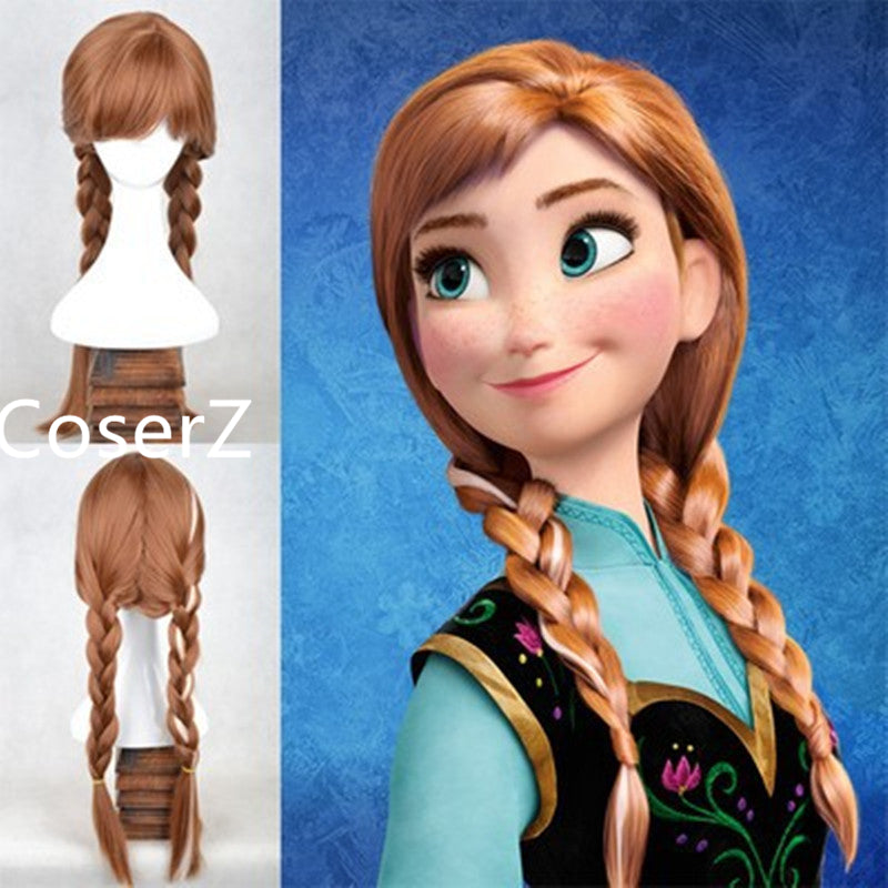 Anng Wig, Anna Cosplay Wig