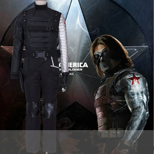 Winter Soldier Bucky Barnes Cosplay