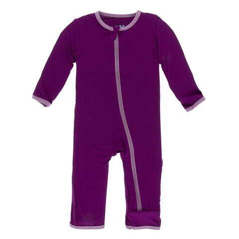 Melody with Pegasus Solid Coverall with Zipper