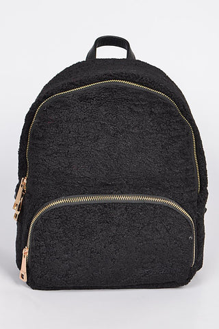 Wool & Sheepskin Back Pack