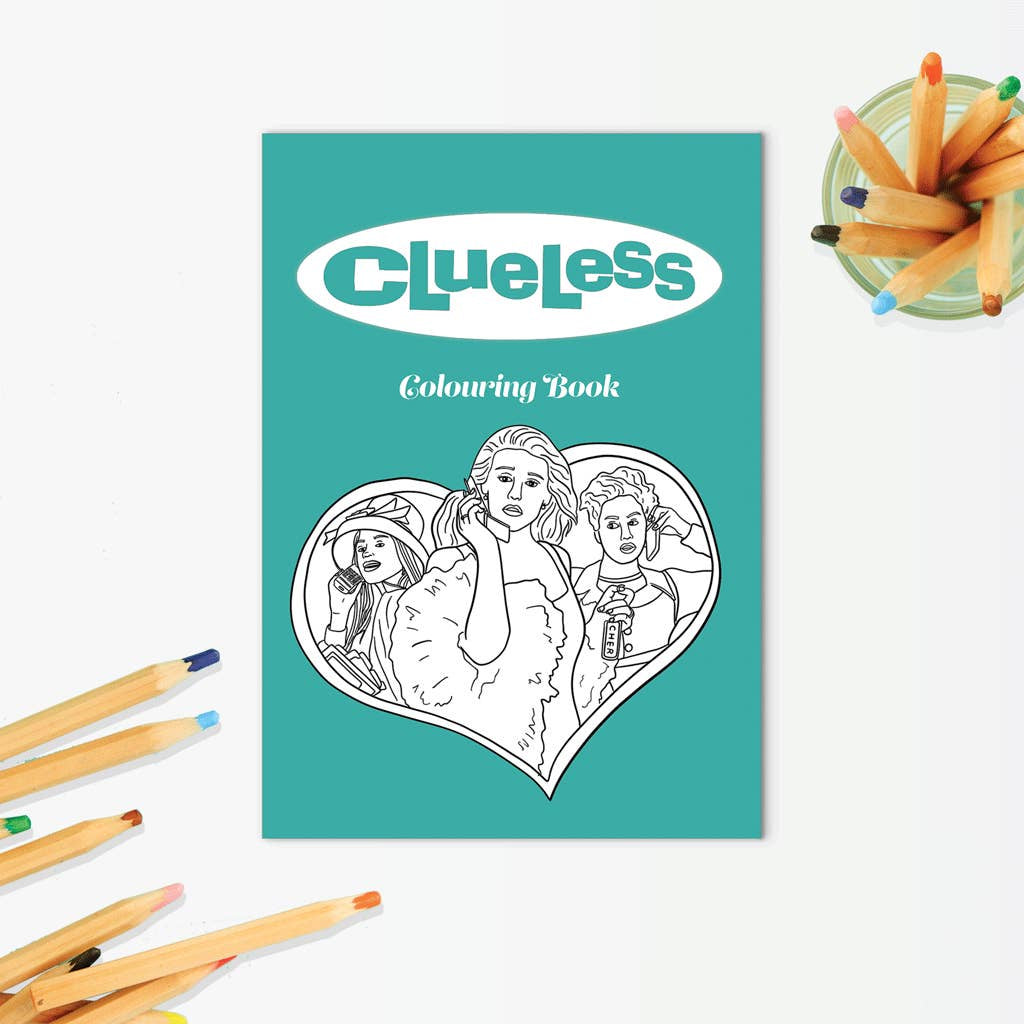 The Clueless Coloring Book