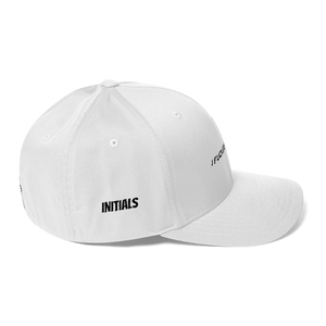I Fucking Love Cars Customizable Flex Fit Cap (White)