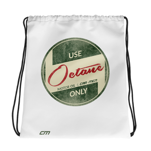 Octane Oil Drawstring bag