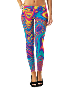 Oil Spill Leggings