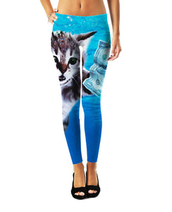 Cat Cobain Leggings