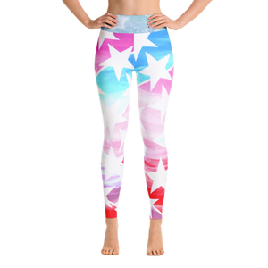 American Holiday Performance Yoga Leggings