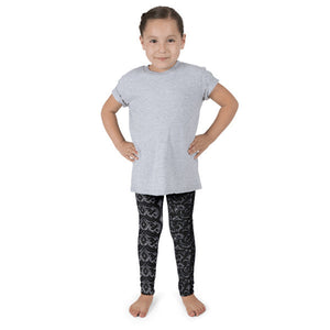 Dark Paisley Kid's leggings