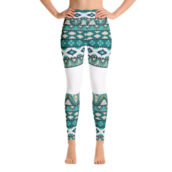 Llama Parka Performance Yoga Leggings