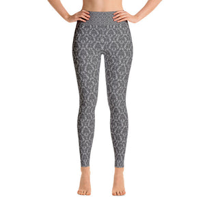 Simple Paisley Performance Yoga Leggings