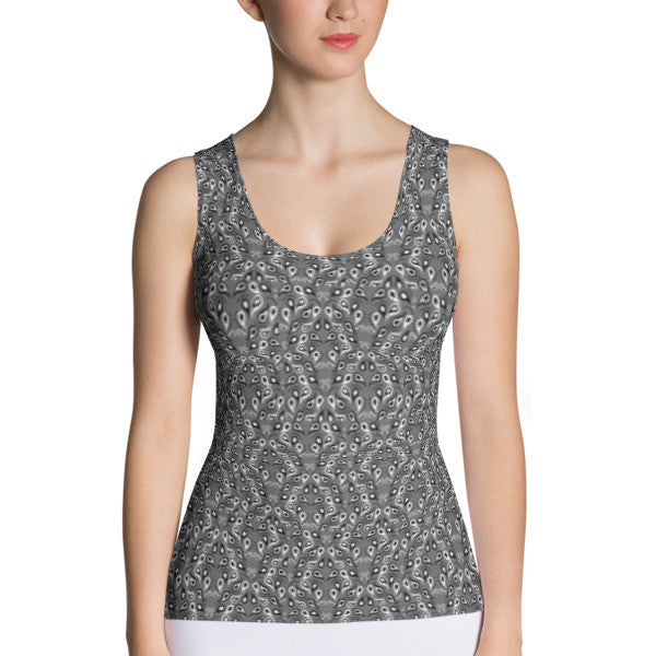 Small Paisley Performance Tank Top