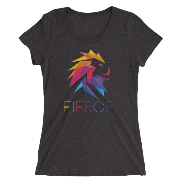 Fierce Lion - Ladies' short sleeve t-shirt