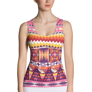 Aztec Love Birds Performance Tank Top