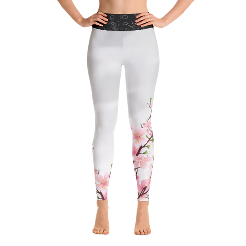 Cherry Blossom Performance Yoga Leggings