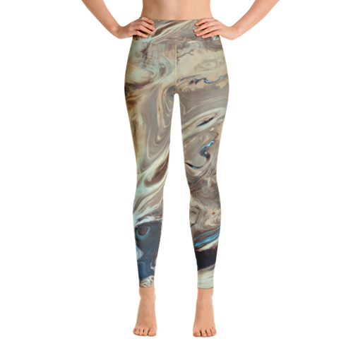 Watercolors Performance Yoga Leggings