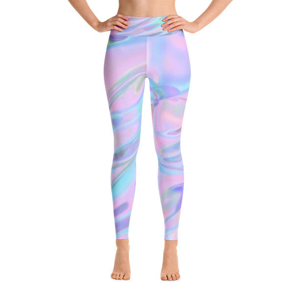 Holographic Aura Performance Yoga Leggings