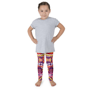 Aztec Love Bird Kid's leggings
