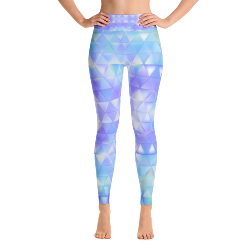 Abstractica Performance Yoga Leggings