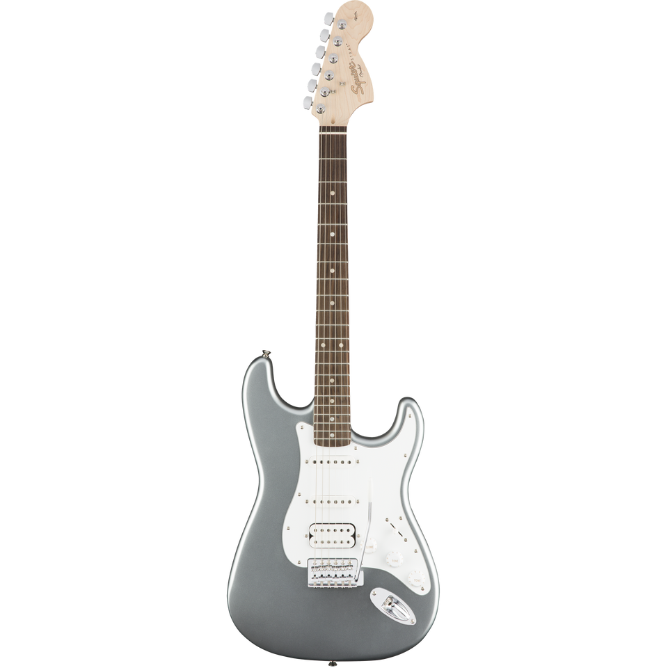 GUITARRA ELECTRICA STRATOCASTER AFFINITY SERIES HSS SQUIER PLATEADA