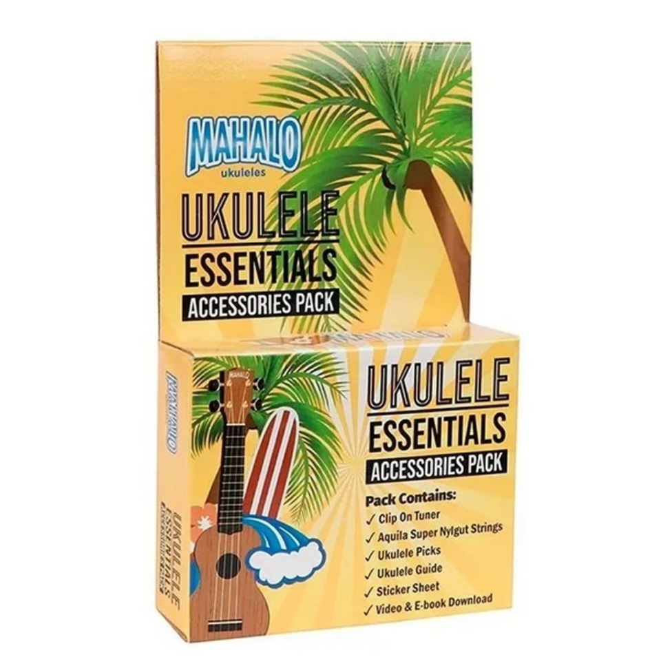 PACK ACCESORIES UKULELE  ESSENTIAL MZK1 MAHALO