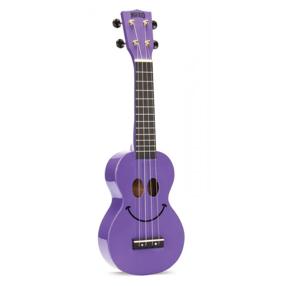 UKULELE SOPRANO SMILEY  TRANS. PURPLE U-SMILE TPP MAHALO