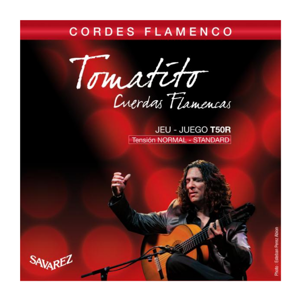 SET CUERDAS GUITARRA FLAMENCO INTERMEDIO T T50R SAVAREZ